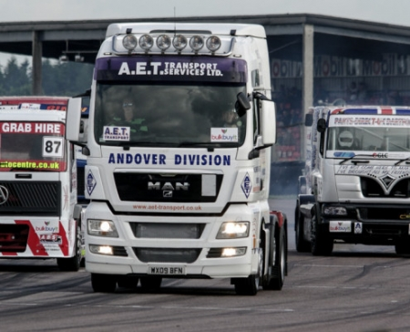 Thruxton Truck Racing 2014