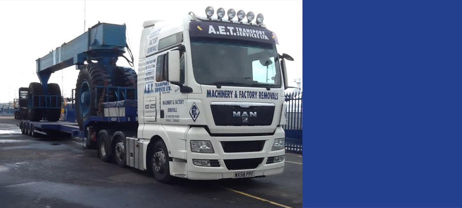 AET Group | Specialists in Heavy Haulage, Crane Hire
